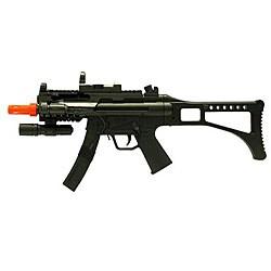 Spring Tactical SWAT MP5 Airsoft Gun - Thumbnail 0