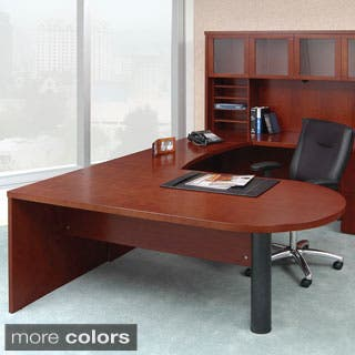 Mayline Mira Series 72 inch Peninsula Desk. Clearance Sale Home Office Furniture For Less   Overstock com