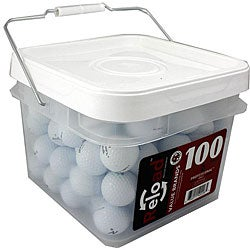 Maxfli Noodle 100-piece Recycled Golf Balls in a Free Bucket