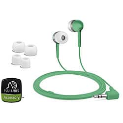 Fuji Labs Green Silicon Earbuds Headphones (Pack of 2)|https://ak1.ostkcdn.com/images/products/P12420107.jpg?impolicy=medium