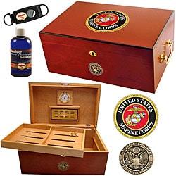 U.S. Marine Corps Cigar Humidor One