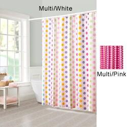 Mariachi Dot Fabric Shower Curtain - Thumbnail 0