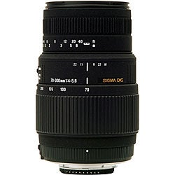 Sigma 70-300mm F4-5.6 DG Macro Nikon Camera Lens