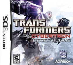 NinDS - Transformers: War for Cybertron -- Decepticons- By Activision Inc.