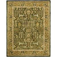 Safavieh Handmade Classic Light Green/ Gold Wool Rug - 9'6 x 13'6