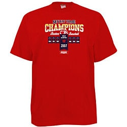 Boston Red Sox 'Seven Times Champions' Red T-shirt