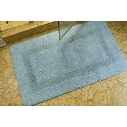 "Safavieh Light Blue Non-slip 2400 Gram 2-piece Bath Mat Set - 1'9"" x 2'10"" - Thumbnail 0"