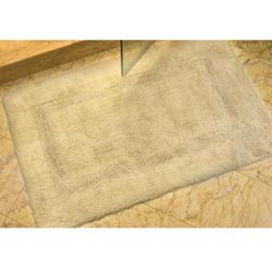 "Safavieh Set of 2 Spa Soft Beige 2400-gram Bath Mats (1'9 x 2'10) - 1'9"" x 2'10"" - Thumbnail 0"