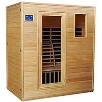 Infrared Carbon Heated 4-person Sauna