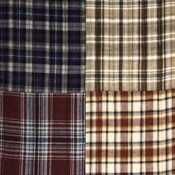 Shop Blue Madras Plaid Quilt Set Free Shipping Today