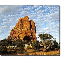Kurt Shaffer 'Monument' Gallery-wrapped Canvas Art