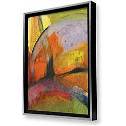 Gallery Direct Sylvia Angeli 'Abstracted Nature II' Framed Canvas Art