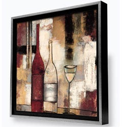 Gallery Direct Bellows 'The Good Life III' Framed Canvas Painting
