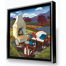 Gallery Direct Susie Webster 'Remnants of the Day' Framed Canvas Artwork