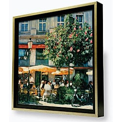 Gallery Direct Ernesto Rodriguez 'Apres Midi' Framed Canvas Wall Art