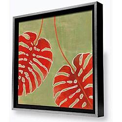 Gallery Direct Laura Gunn 'Palm Study II' Framed Canvas Wall Art