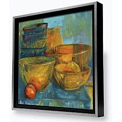 Gallery Direct Sylvia Angeli 'Red and Green Fruit II' Framed Canvas Art