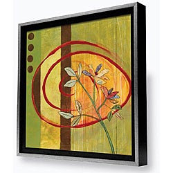 Gallery Direct Marirosa Hofmann 'Spring Panel II' Framed Canvas Art