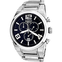 Roberto Bianci Men's Black Dial Chronograph Watch