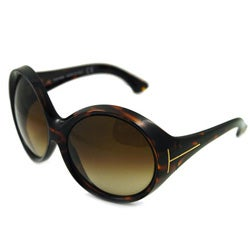 Tom Ford Women's 'TF 94 Alessandra' Oversized Sunglasses - Thumbnail 0