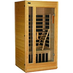 Home Sauna with Carbon Heaters