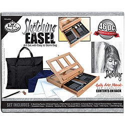 Sketching Easel Artist Kit With Storage Bag
