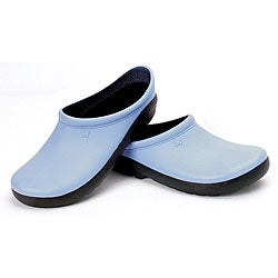Sloggers Women's Geisha Blue Foam Resin Clog (Size 6)