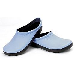 Sloggers Women's Geisha Blue Foam Resin Clog (Size 6)