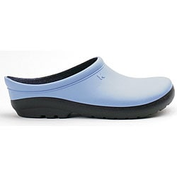 Sloggers Women's Geisha Blue Foam Resin Clogs (Size 7)