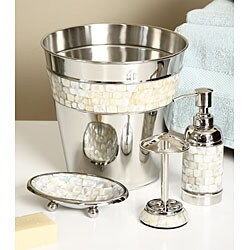 of pearl 4 bath accessory set free shipping