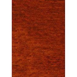 Safavieh Hand-knotted Vegetable Dye Solo Rust Hemp Runner (2'6 x 6')