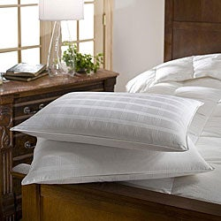 Standard 300 Thread Count Hypoallergenic Down Pillows (Set of 2)