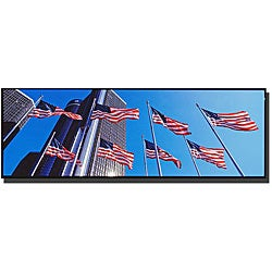Preston 'Flags GM Detroit' Gallery-wrapped Canvas Art