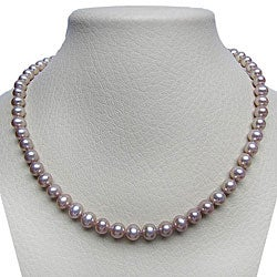 Pink Freshwater Pearl 20-inch Strand (7-7.5 mm)