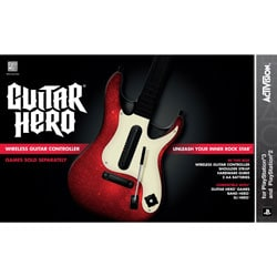 PS3 Guitar Hero 5 Stand-Alone Guitar - By Activision