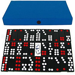 Shop Pai Gow 32 Tile Chinese Dominoes Game Set With Blue