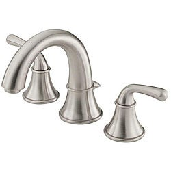 Danze D304056BN Bannockburn Brushed Nickel Widespread Lavatory Faucet