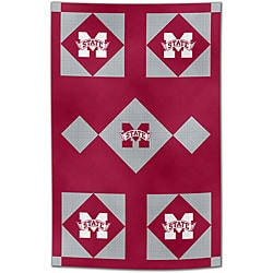 NCAA Mississippi State Patchwork Quilt - Thumbnail 0