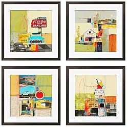 Gallery Direct Maureen Brouillette 'It'll Do Dancing I-IV' 4-piece Giclee Art Set
