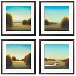 Gallery Direct St. John 'River's Journey I, III, V, VIII' Giclee Prints (Set of 4)