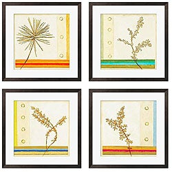 Gallery Direct Sean Jacobs 'Wild Summer I-IV' Giclee Framed Print (Set of 4)
