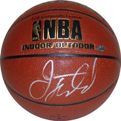 Jason Kidd Autographed NBA Indoor/ Outdoor Basketball - Thumbnail 0
