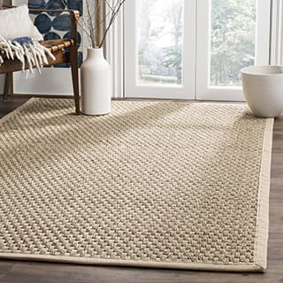 Safavieh Casual Natural Fiber And Beige Border Seagr Rug 3