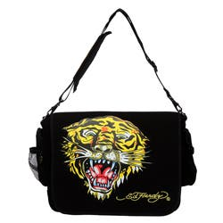 184a8bc0992a Shop Ed Hardy Leo Tiger Messenger Bag - Free Shipping On Orders Over ...