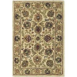 Safavieh Handmade Babol Ivory Wool Rug (2' x 3')