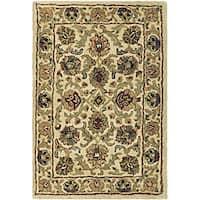 Safavieh Handmade Babol Ivory Wool Rug (2' x 3') - 2' x 3'