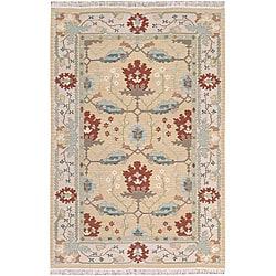 Nourison Samarkand Beige Wool Rug (9'9 x 13'9)