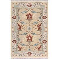 Nourison Samarkand Beige Wool Rug - 9'9 x 13'9