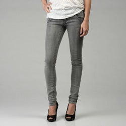 becca distressed released hem skinny jean womens