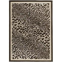 Artist's Loom Indoor/Outdoor Contemporary Animal Print Rug (1'11 x 3'7)